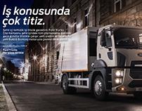 Ford Trucks - Çöp kamyonu