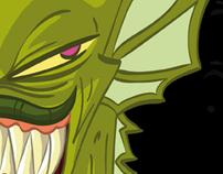 Black Lagoon Monster