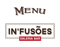 In'fusões - Menu