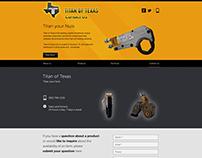 Titan of Texas - Web design - UI/UX