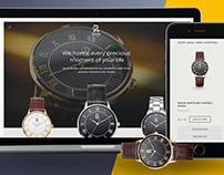 Ravn Watches | Re-Branding & Website Re-wamping