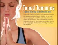 Seattle Athletic Club - Toned Tummies Yoga Poster