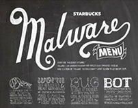 Malware & Safety Infographic for Starbucks Headquarters