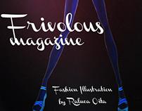 Frivolous Magazine - Fashion Illustrations