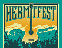 Hermitfest Annual Posters