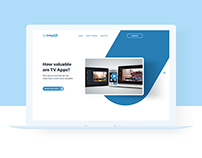 Landing Page for Advertise Application
