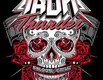 Iron Thunder Saloon & Grill Bike Night Summer Designs