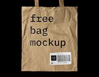 Free Craft Bag Mockup