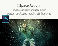 I Space Action FEATURES: 1 Action File (ATN). 1 Brush F