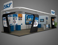 Mid size exhibition booths