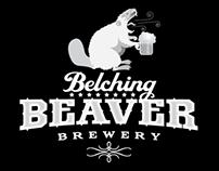 Belching Beaver Logo Design