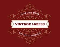Vintage Labels Logo Templates v3