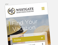 UI/iXD Redesign - Westgate Mobile View