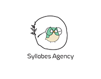 Logotype, site for Syllabes Agency (desktop+adaptive)
