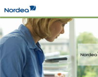Cisco WebEx Training page for Nordea Bank Sweden