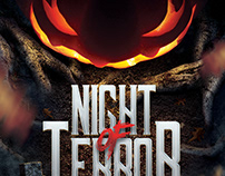 Night of Terror Halloween Flyer