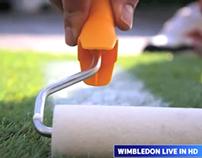 Outdoor - SuperSport - 'Wimbledon Grass Billboard''