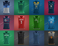 La Liga · Jerseys (Concept)