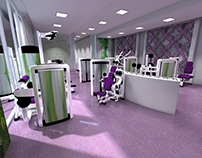 Fitness Club Rendering Proposal in Qatar
