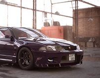 Nissan Skyline R33 GT-R V-spec II