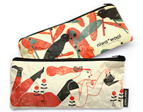 Pencil-cases for Niwa*Woll