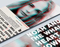 Noah & The Whale Blue Note Album Design