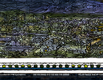 panorama Series Gifu-Hashima Station~night~