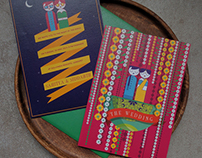 Sahitya weds Siddarth - Indian Wedding Invite