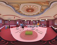 Dreamy Morning at the cafe 'Lobby' 360˚/VR