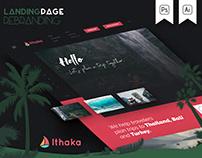 Landing WebPage Design - Ithaka
