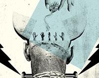 Working Illustrations for Frankenstein