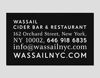 WASSAIL, CIDER BAR & RESTAURANT