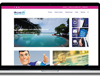 Acquaspecialist web design