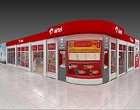 Airtel EXPO Store Designs