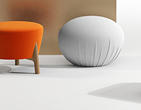 Curated Collections / 33 Footstools & Ottomans