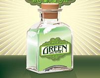 Green Love Potion Illustration