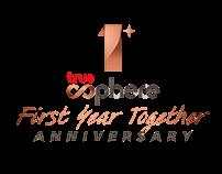TrueSphere 1st Anniversary | Logo Design