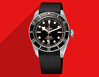 TUDOR Watches Website Redesign