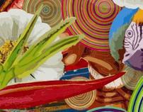 Arte da cor: brazilian flora andculture