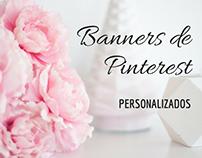Banners para Pinterest