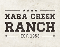 Kara Creek Ranch Logo-Design