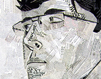 newspaper portrait