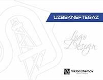 Uzbekneftegaz Logo Concept
