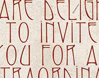 La Bodega Anniversary Invitation