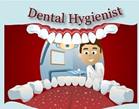 Dental hygienist- Infographic