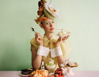 Advertising Jo Malone; recipes, food & props styling