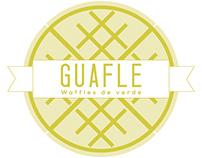 Guafle: waffles de verde