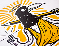 Holy Crow // Screenprint