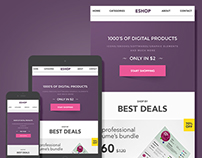 Eshop – Email Marketing Template