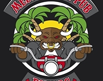 Mediterran Pub Bikers t-shirt design | A-TEAM